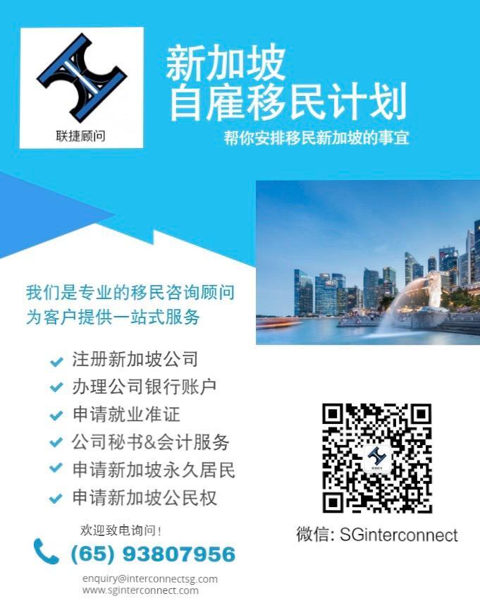 新加坡公司注册(网上办理)新加坡银行开户(视讯会议)会计做账