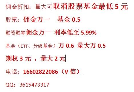 杭州股票开户网上开户!佣金最低万一免五重磅福利