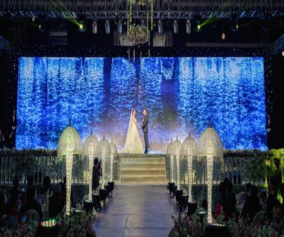 展会庆典舞台设备租赁LED显示屏音响租赁