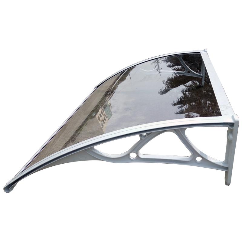 上海静音雨棚厂家供应雨棚遮阳棚窗户空调雨搭