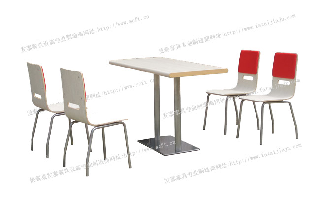 快餐桌椅批发,快餐店桌椅组合,餐厅快餐桌椅,四川快餐桌椅制造发泰家具厂欢迎您