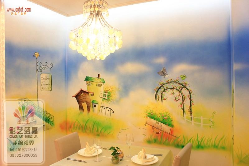 手绘墙之青岛彩艺盛嘉墙绘公司